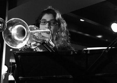 Geeta Trumpet 1 - b/w