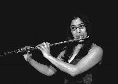 Geeta Flute 1 - b/w